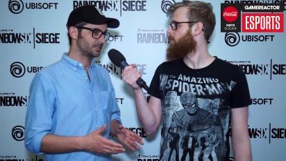 Rainbow Six Pro League Season 3 -finaalit - Alex Remy haastattelussa
