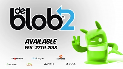 De Blob 2 - julkistustraileri konsoleille