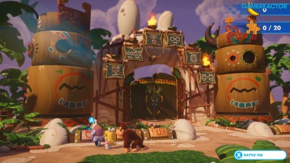 Mario + Rabbids Kingdom Battle - Donkey Kong DLC -pelikuvaa