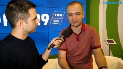 FIFA 19 Switch - Andrei Lazarescu haastattelussa