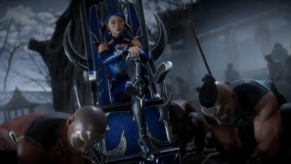 Mortal Kombat 11 - virallinen Kitana-traileri