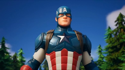 Fortnite - Captain America Arrives Traileri