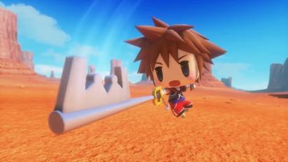 World of Final Fantasy - Sora DLC - japanilainen traileri