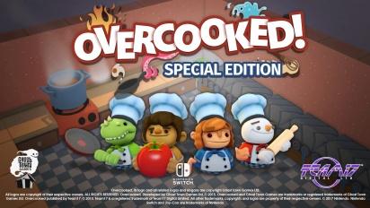 Overcooked - Special Edition -julkaisutraileri