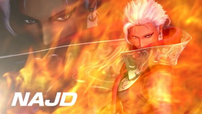 King of Fighters XIV - Najd DLC Character -traileri