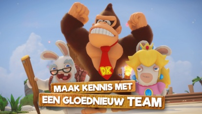 Mario + Rabbids Kingdom Battle: Donkey Kong Adventure - pelikuvatraileri