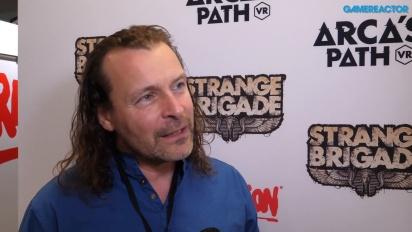 Strange Brigade - Jason Kingsleyn haastattelu