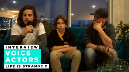 Life is Strange 2 - Roman George, Gonzalo Martin ja Phil Bache haastattelussa