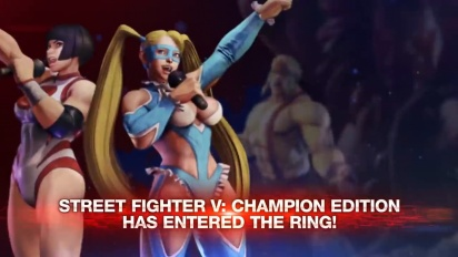 Street Fighter V: Champion Edition - Launch Trailer