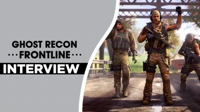 Ghost Recon Frontline - Stefan Marinescu haastattelussa