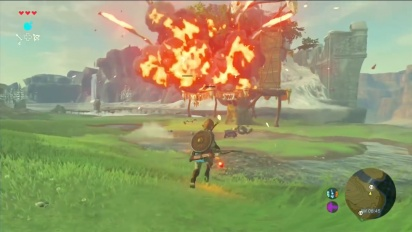 The Legend of Zelda: Breath of the Wild - Arrow Types Gameplay
