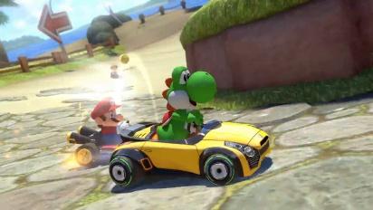 Mario Kart 8 Deluxe - ensimmäinen traileri