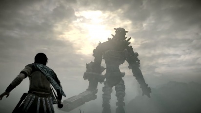 Shadow of the Colossus - Crafting a Colossus -traileri