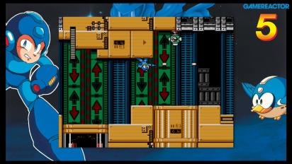 Mega Man Legacy Collection - Mega Man V -pelikuvaa Switchiltä