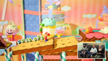 Yoshi's Crafted World - Nintendo Treehouse -pelikuvaa