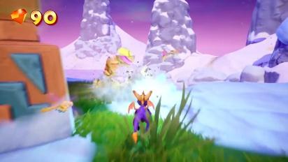 Spyro Reignited Trilogy - Frozen Altars -pelikuvaa