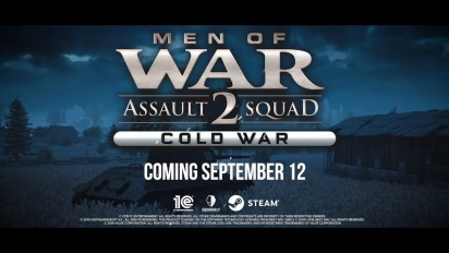 Men of War: Assault Squad 2 - Cold War - julkistustraileri