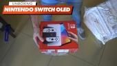 Nintendo Switch OLED model - Gamereactor Unboxing