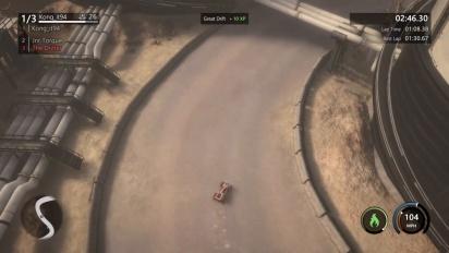 Mantis Burn Racing -pelikuvaa