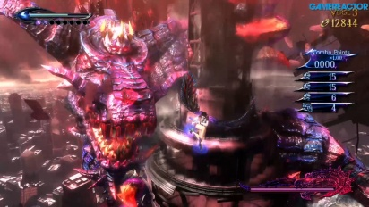 Bayonetta 2 - Gomorrah Nintendo Switch -pelikuvaa