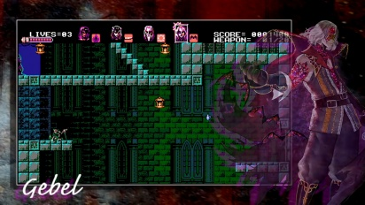 Bloodstained: Curse of the Moon - virallinen traileri