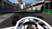 F1 2018 - Charles Leclerc Monaco -pelikuvaa