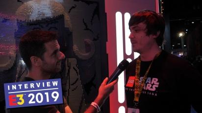 Lego Star Wars: The Skywalker Saga - James Burgon haastattelussa