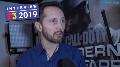 Call of Duty: Modern Warfare - Taylor Kurosaki haastattelussa