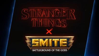 SMITE x Stranger Things - Battle Pass Traileri