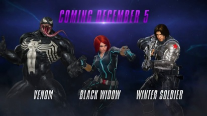 Marvel vs. Capcom: Infinite - Winter Soldier, Black Widow ja Venom pelikuvassa