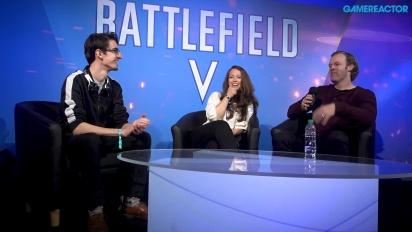 Battlefield V - Ryan McArthur ja Nathalie Ek haastattelussa