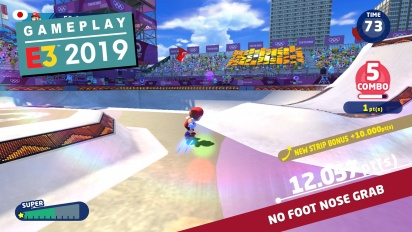 Mario & Sonic at the Olympic Games Tokyo 2020 - E3 Demo -pelikuvaa