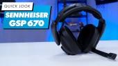 Nopea katsaus - Sennheiser GSP 670