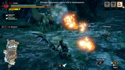 Monster Hunter Rise - Great Sword Gameplay Traileri