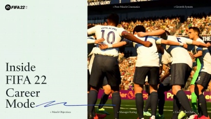 FIFA 22 - Official Career Mode Traileri