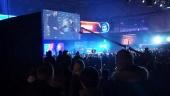 Yleisö mylvii Leipzigin DreamHackissa