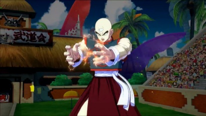 Dragon Ball FighterZ - Yamcha & Tien -traileri