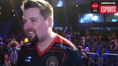 Rainbow Six Pro League Season 3 finals - Willkey Grand Champion haastattelussa