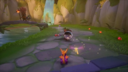 Spyro Reignited Trilogy - PS4-pelikuvaa