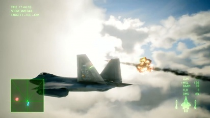 Ace Combat 7: Skies Unknown - F-22A Aircraft Focus -traileri