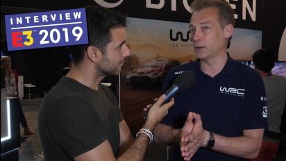 WRC 8 - Alain Jarniou haastattelussa