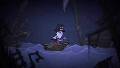 Don't Starve: Shipwrecked -lisäosan julkaisutraileri