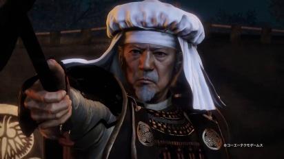 Nioh - Bloodshed DLC -pelikuvatraileri (japaniksi)