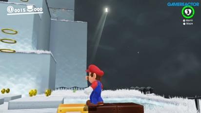 Super Mario Odyssey - Cap Kingdom -pelikuvaa
