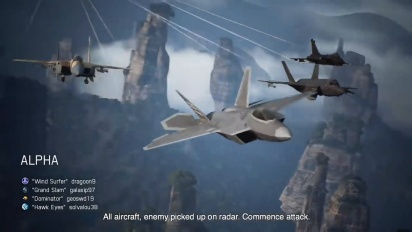 Ace Combat 7: Skies Unknown - Multiplayer-traileri