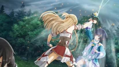 Sword Art Online: Hollow Realization - japanilainen Nintendo Switch -traileri