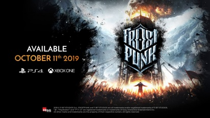 Frostpunk - konsoliversion traileri