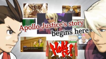 Apollo Justice: Ace Attorney - julkaisutraileri Nintendo 3DS