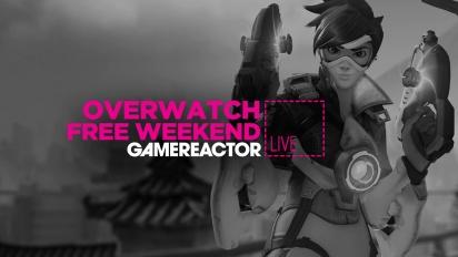 Overwatch - ilmaisen viikonlopun aloittelijan suoratoistolähetys