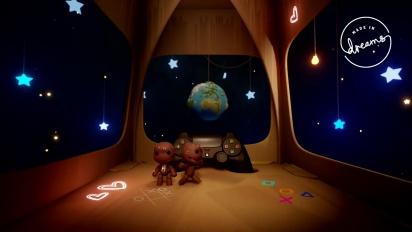 Dreams - LittleBigPlanet-kentän pelikuvaa